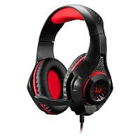 HEADSET P3/USB GAMER MULTILASER WARRIOR PRETO/VERMELHO - PH219