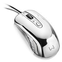 MOUSE USB GAMER MULTILASER WARRIOR PRATA MO228 #