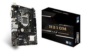 PLACA MÃE H310MHP BIOSTAR DDR4 1151 (HDMI/VGA) 20661@