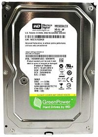 HD DESKTOP SATA 500GB WESTERN DIGITAL WD5000AUDX 20409 @