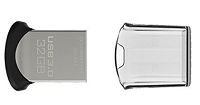 PEN DRIVE 32GB MICRO USB 3.0 SANDISK ULTRA FIT SDCZ43-032G-GAM46@
