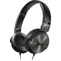 HEADPHONE P2 PHILIPS SHL3160BK/00 PRETO@
