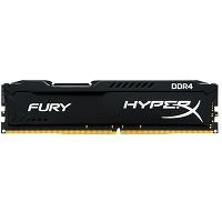 MEMÓRIA DDR4 8GB 2400MHZ KINGSTON HYPER X FURY BLACK @
