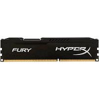 MEMÓRIA DDR3 8GB 1600MHZ KINGSTON HYPER X FURY BLACK @