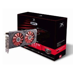 PLACA DE VÍDEO RADEON RX570 8GB DDR5 XFX RX-570P8DFD6