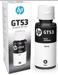 REFIL DE TINTA HP BLACK GT53 1VV22AL - 90ML