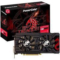 PLACA DE VÍDEO RADEON RX570 RED DRAGON 4GB DDR5 POWERCOLOR AXRX 570 D5-3DHDV2/OC