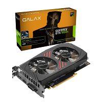 PLACA DE VÍDEO GEFORCE GTX1050TI 4GB DDR5 GALAX 50IQH8DSC7CB 1-CLICK OC