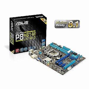 PLACA MÃE ASUS PBH61-M LX2 DDR3 1155 @