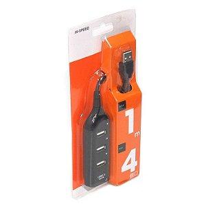 HUB USB 2.0 4 PORTAS HUB-AM - 416 2152