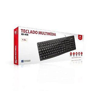 TECLADO USB C3TECH KB-M30BK PRETO