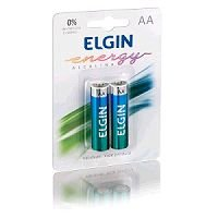 PILHA ALCALINA AA COM 2 ELGIN LR6 82152