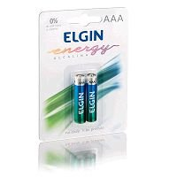 PILHA ALCALINA AAA COM 2 ELGIN LR03 82154