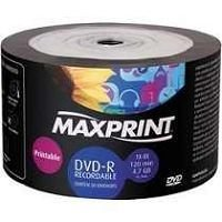 DVD-R PRINT MAXPRINT 50607-1