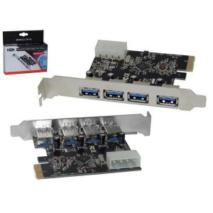 PLACA PCI EX USB 4 SAIDAS DP-43 PC0033DEX