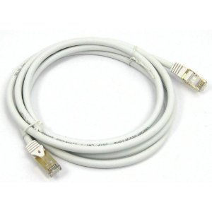 CABO REDE CAT6 2.5M PLUS CABLE PC-ETH25WH BRANCO
