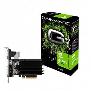 PLACA DE VÍDEO GEFORCE GT710 2GB DDR3 GAINWARD NEAT7100HD46-2080H