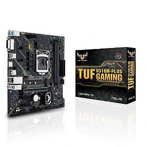 PLACA MÃE H310M-PLUS GAMING TUF ASUS DDR4 1151 (HDMI/VGA) @