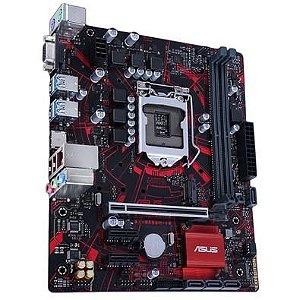 PLACA MÃE EX-B365M-V5 ASUS DDR4 1151 (HDMI/DVI) @