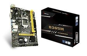 PLACA MÃE B365MHC BIOSTAR DDR4 1151 (HDMI/DVI) @
