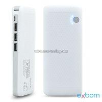 POWER BANK 10000MAH COM LANTERNA EXBOM PB-MX10 02518