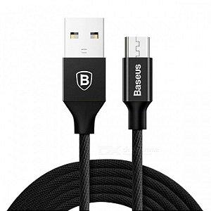 CABO MICRO USB BASEUS YIVEN 1M PRETO CAMYW-A01 890