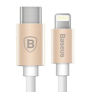 CABO USB TIPO-C PARA IPHONE LIGHTNING BASEUS GATHER DRD CATPYPEC-AR 1300