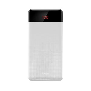 POWER BANK 10000MAH BASEUS MINI BRANCO 496401 4750