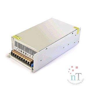 FONTE CHAVEADA 12V 50A CFTV/LED EXBOM 02159#