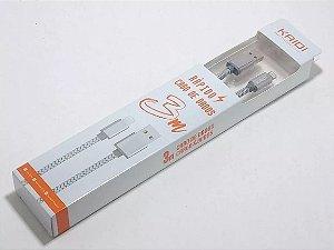 CABO USB IPHONE LIGHTNING KD-311A DOURADO 1100 298248