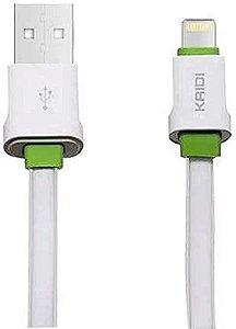 CABO USB IPHONE LIGHTNING KAIDI KD-61A PRATA 778801