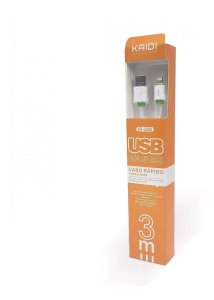 CABO USB IPHONE LIGHTNING KAIDI KD-330A 414703