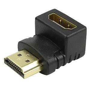 ADAPTADOR HDMI MACHO PARA HDMI FEMEA 90 GRAUS CHIPSCE 003-8603