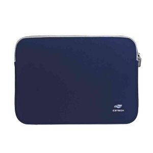 CAPA SLEEVE PARA NOTEBOOK 15.6 SEATTLE C3TECH AZUL SL-15BL