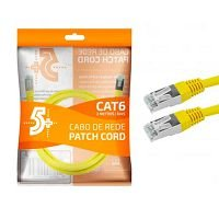 CABO REDE CAT6 2M CHIPSCE AMARELO - 018-1088