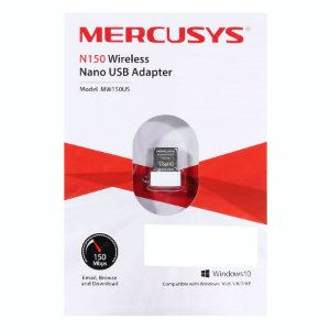 MINI ADAPTADOR WIRELESS 150MBPS MERCUSYS MW150US