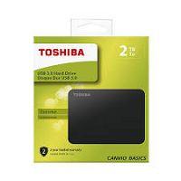 HD EXTERNO 2.5 2TB TOSHIBA CANVIO BASIC PRETO DTB420