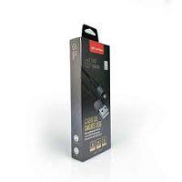 CABO USB MICRO USB 2A 1M C3PLUS CB-M150BK PRETO