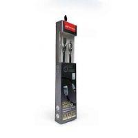 CABO MICRO USB 1M 2.4A C3TECH CB-M180BK PRETO