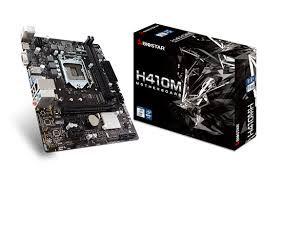 PLACA MÃE 10ª BIOSTAR H410MH LGA 1200 HDMI/VGA DDR4@