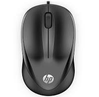 MOUSE USB HP 1000 4QM14AA#ABL PRETO