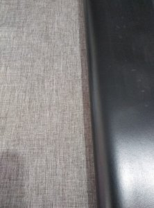 ROLO LINHO CINZA MESCLA COM FUNDO NYLON  COM 0,50 X 1,40 M