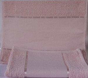 Lavabo felpudo multi-arte III ROSA 9523