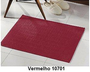 Toalha para piso Felpudo Royal  VERMELHO