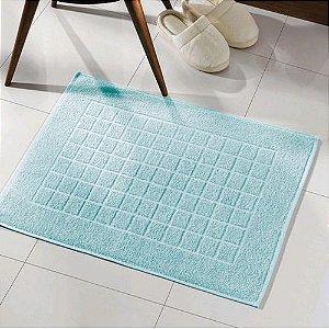 Toalha para piso Felpudo Royal  CEU AZUL