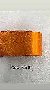 Fita de cetim Numero 9 progresso CF009 COR 066 LARANJA