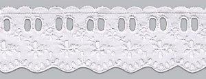 Passa Fita – PP021-050 - Poliéster / Algodão: 80/20 largura 5 cm cor Branca