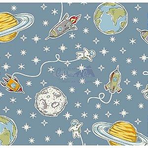TRICOLINE SPACE COR 02 100% ALGODÃO TT180628 (JEANS)