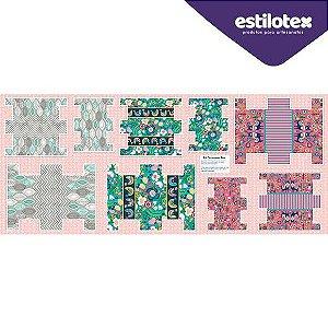 TRICOLINE PAINEL NECESSAIRE BOX BIA FELTIZ 100% ALGODÃO 60CM X 150C 58777