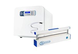 Kit Autoclave 12 Litros e Seladora Odontológica